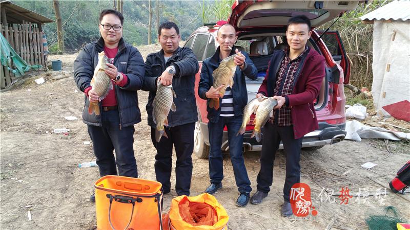 团队钓鱼竞技活动